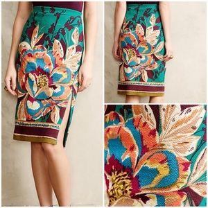 Anthropologie Skirts - Anthropologie Maeve Tapestry Pencil Skirt